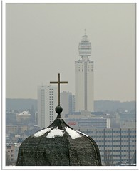 Frankfurt am Main: Paulskirche und Henninger-Turm