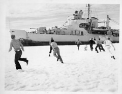 Operation Windmill Expedition Members Playing in the Snow (Smithsonian Institution) Tags: ship sailors antartica usnavy usn icebreaker uscg smithsonianinstitution unitedstatesnavy uscoastguard unitedstatescoastguard smithsonianinstitutionarchives operationwindmill ussburtonislandag88 ussburtonisland ag88 uscgcburtonislandwagb283 uscgcburtonisland wagb283 windclass ussburtonislandagb1 agb1