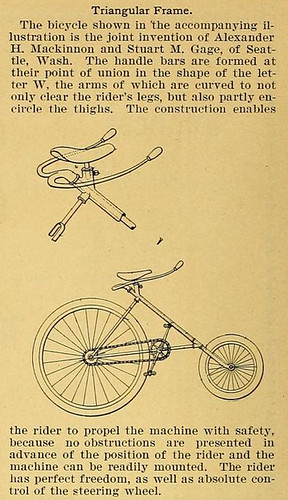 Triangle Frame Bike from Seattle (1896)