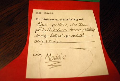 Maddie's List