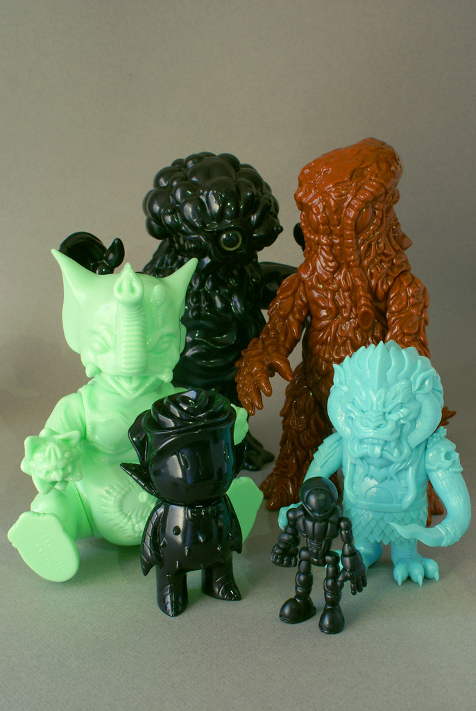 More Unpainted Toys!