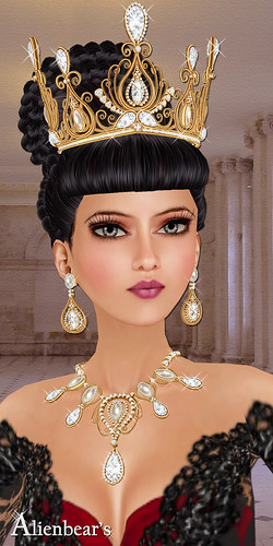 Aphrodite Queen gold model