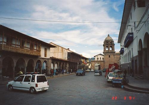 Near Plaza des Armas, Cuzco, Peru