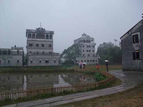 広東省開平 自力村