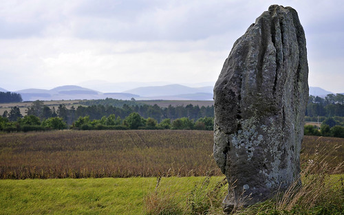 Standing Stone And The Cheviots