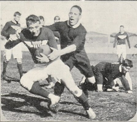 1910 All-Americans tour of Australia and NZ. Photo credit: Jarrod Bergstrom, USA Rugby.