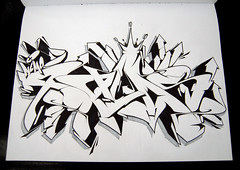Sketch Swap - Palms by Nemo (Dirty Harry Palms GM) Tags: storm palms graffiti sketch nemo swap jaes