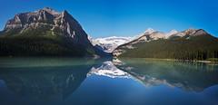 Lake Louise Reflections Panorama (Richard J M) Tags: reflections banff lakelouise nationalparks canadianrockies