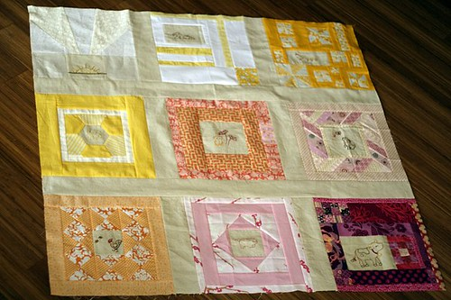 Baby Quilt with do. Good Stitches