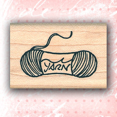 Yarn Skein Rubber Stamp ~ Craft Stamps (RubberShow) Tags: black scrapbooking paper knitting handmade sewing crafts knit craft rubber stamp yarn etsy rubberstamp rubberstamping skein craftsupplies papercrafts craftstamps skeinofyarn
