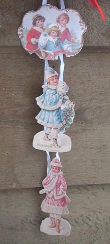 Vintage Card Hanging