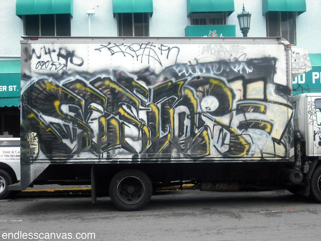 SESTOR graffiti - Oakland, Ca
