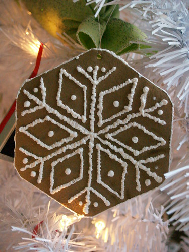 Iced Gingerbread Cookie