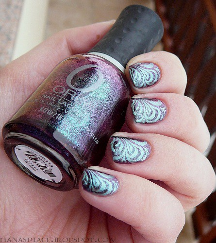Orly - Galaxy Girl + Konad #2