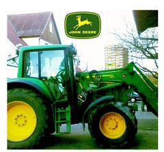 John Deere 6430, with old JD logo, and new edited  logo, a  collage (eagle1effi) Tags: tractor green sign yellow collage emblem logo traktor mark bulldog marks badge montage jd insignia brand marken johndeere tracteur trator marke trecker trekker schlepper marque 6430 views500 traktr waldhausen treker eagle1effi hdrtractor yourbestoftoday effiart tractorandmore johndeere6430premium effiarteagle1effi