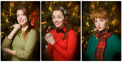 Have a Holly, Jolly Christmas! (laurenlemon) Tags: christmas portrait holiday tree december decoration reno cheesy 2010 canoneos5dmarkii laurenrandolph laurenlemon