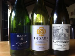 a flight of South African whites to close...
