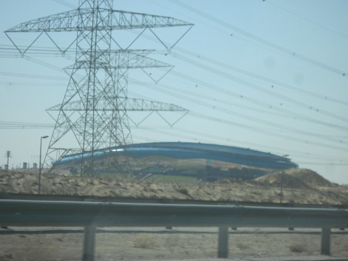 Swimming Facility in Middle of Desert