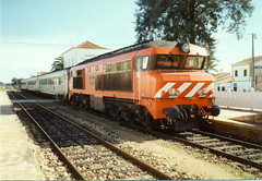 CP 1900 Class 1937 - Albufeira, Portugal (dwb photos) Tags: portugal diesel railway albufeira 1933