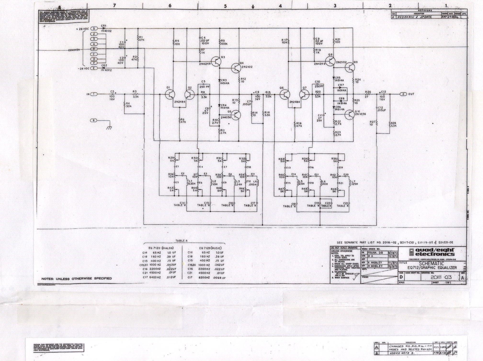 Quad Eight 712 Graphic Eq 5 Band Equaliser Circuit Diagram Http Farm6staticflickrcom 5206 5278034584 Ae17c367ce O