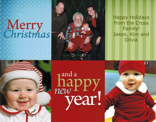 2010 Cross Holiday Card