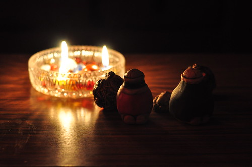 Nativity and Advent Candles