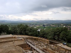 Sepphoris with Nazareth on hill in distance (Steve Peterson)