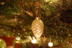 Glitter Pinecone