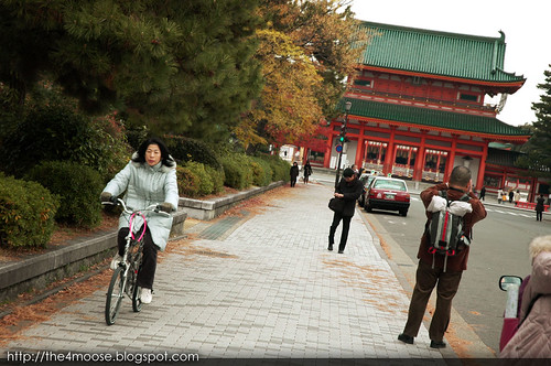 Heian Jingu 平安神宮 - Oten-mon Gate