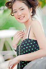 [フリー画像] 人物, 女性, アジア女性, タイ人, 201102111700