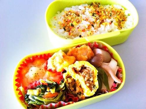 今日のお弁当 No.80 – 緑黄野菜