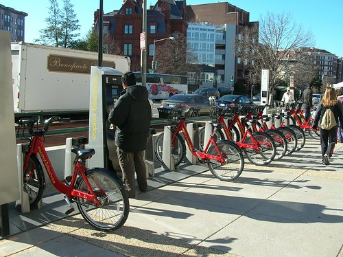 Capital Bike Share bike rental station