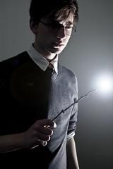 163/365 (3) (Christopher Saccaro) Tags: lighting portrait selfportrait self nikon daniel wand magic harry potter harrypotter days teenager suburbs 365 cinematic hallows d40 deathly teenboy nikond40 deathlyhallows radcliffe365days
