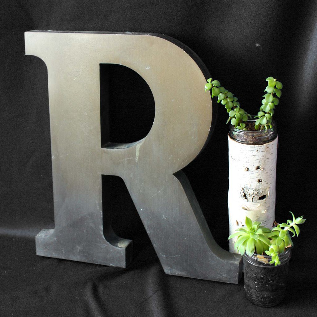Home Decor Wall Letters : Metal wall letters decor