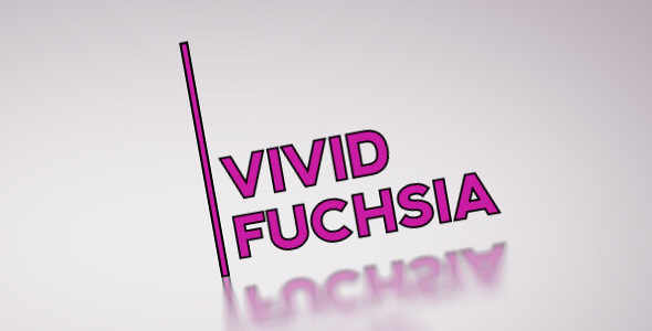 vivid fuchsia