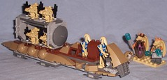 7929 - The Battle of Naboo (Darth Ray) Tags: star lego battle jar wars naboo droid pilots binks droids the 7929 gungan solldier