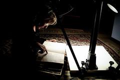 L'Archivista (rombear) Tags: donna libro mano documento stativo archivista bibliotecacomunalelanciano