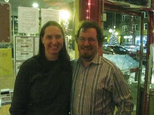 Happy New Years: Kimberly and Ian