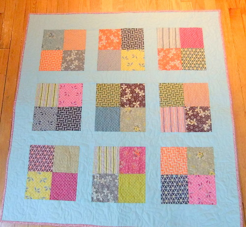 Hope Valley baby quilt