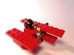 LEGO Clumsy Bob's mini plane