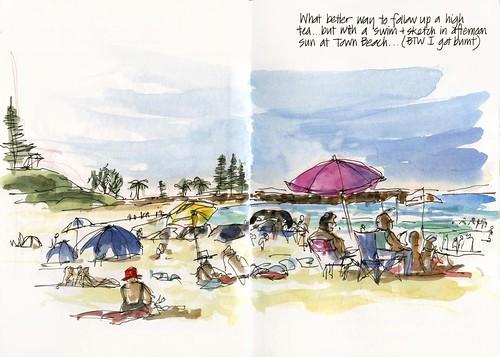 101231_05 Town Beach Swim