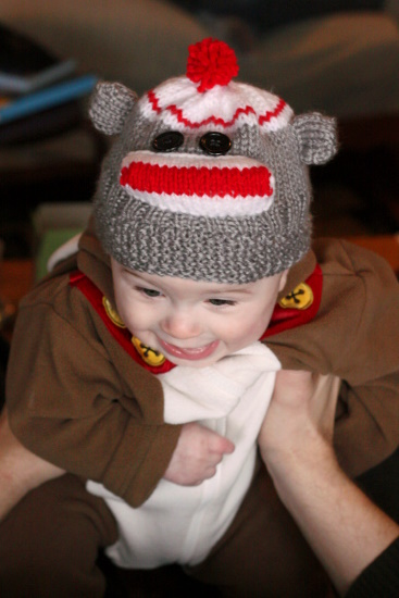 Sock Monkey Hat - 2
