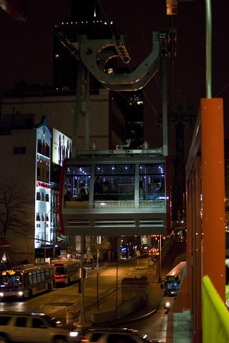 tram arriving