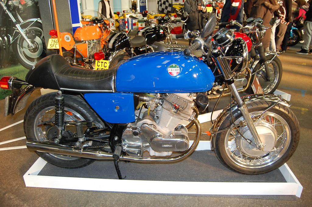 LAVERDA 750. ITALIAN FOUR STROKE TWIN.1970s