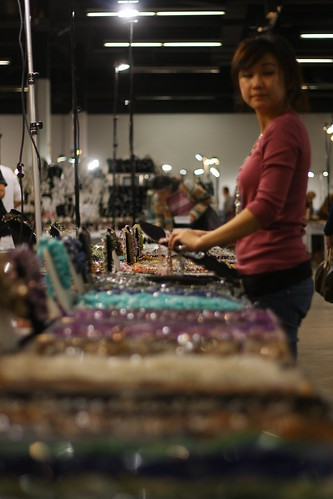 Gem & Lapidary Wholesalers show at the Asheville Civic Center