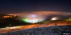 Cloudy Sanandaj (kavan.) Tags: road city winter light cloud snow color night canon landscape iran sigma 1020 kurdistan sine sena kavan kordestan 400d