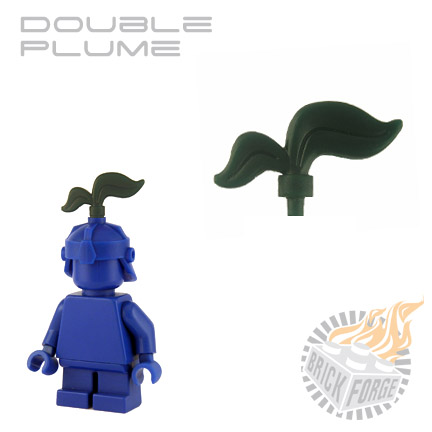 Double Plume - Dark Green