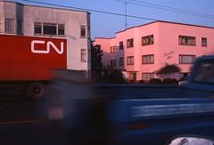 Faversham Apts. - Vancouver -January 1978 (POP SNAP) Tags: vancouver 1978 kodachrome nikkormat