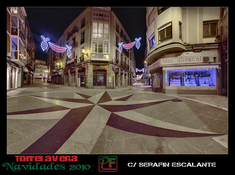 Torrelavega - Serafin Escalante  - Navidades 2010