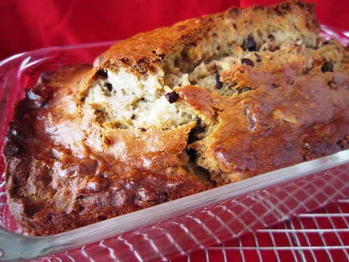 Banana Bread Out of the Oven